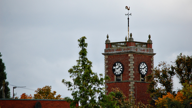 The Clock tower of St Thomas&#039; Church