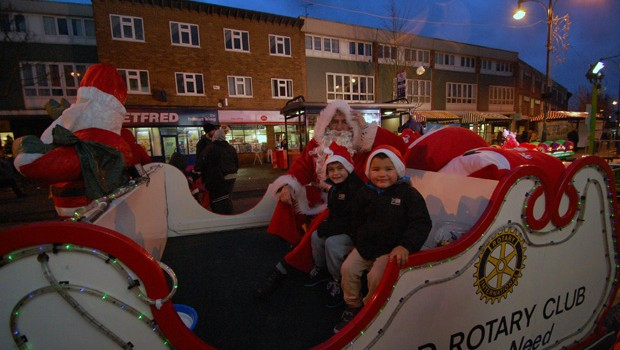 Wednesfield Lights 2012  (15)